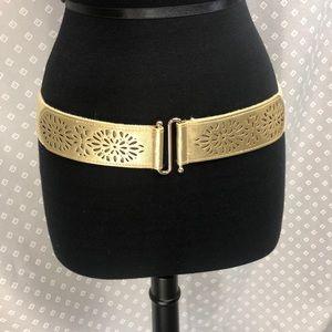 Gold Sparkly Belt